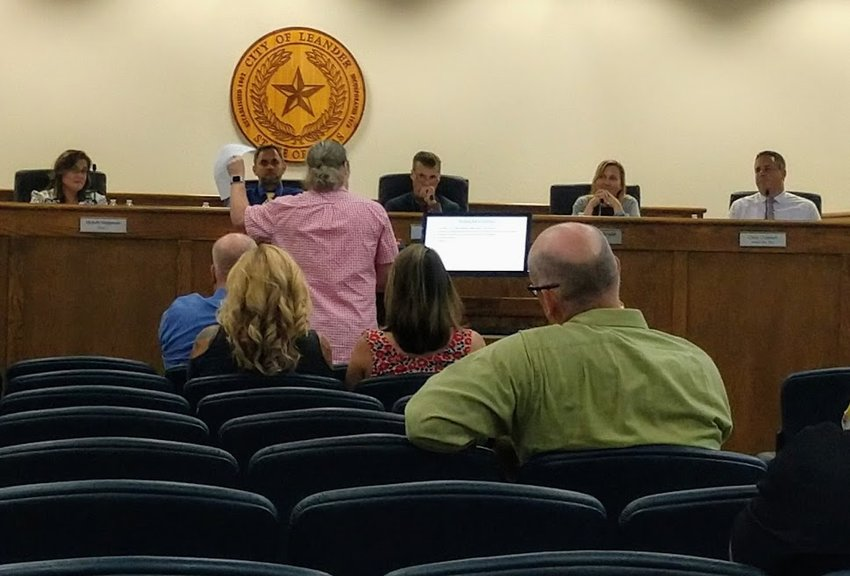 The Leander City Council heard objections back in October from John Handy Bosma to the new public comment rules. The changes passed 5-to-2.