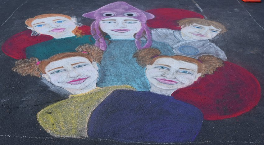Round Rock's Chalk Walk Arts Festival featured several chalk art murals by individuals, businesses, students and organizations on Friday and Saturday at the Dell Diamond Stadium.  As Round Rock's largest festival for the arts, beautiful sidewalk murals drew in thousands of people over the weekend. Hundreds of artists showcased their work, while other fun activities were enjoyed by the whole family. Back-to-back live music by school groups and local musicians accompanied kids' activities, craft vendors and, of course, the main attraction --- the unbelievable chalk art murals.