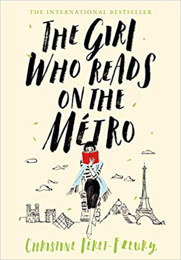 'The Girl Who Reads on the Metro' by Christine Feret-Fleury, translated from the French by Ros Schwartz (Flatiron Books/TNS)