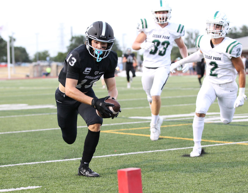 Trey Mongauzy and Vandegrift host Klein Collins in the second round of the playoffs Friday night at Monroe Stadium. The Vipers beat the Tigers in double overtime last season to reach the third round fort he first time since jumping up to Class 6A.