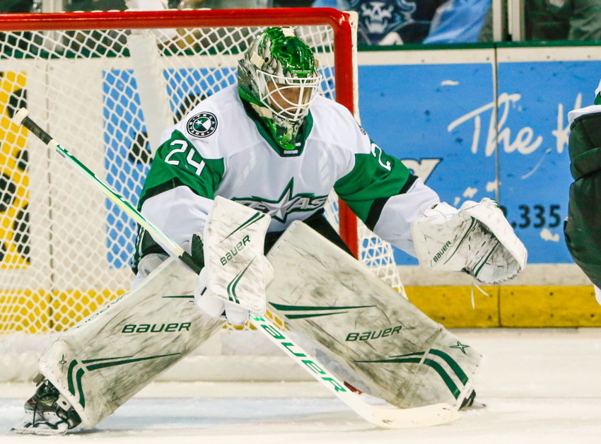 Jake Oettinger made 26 saves as the Texas Stars beat the Wilkes-Barre/Scranton Penguins 4-3 on Friday night.