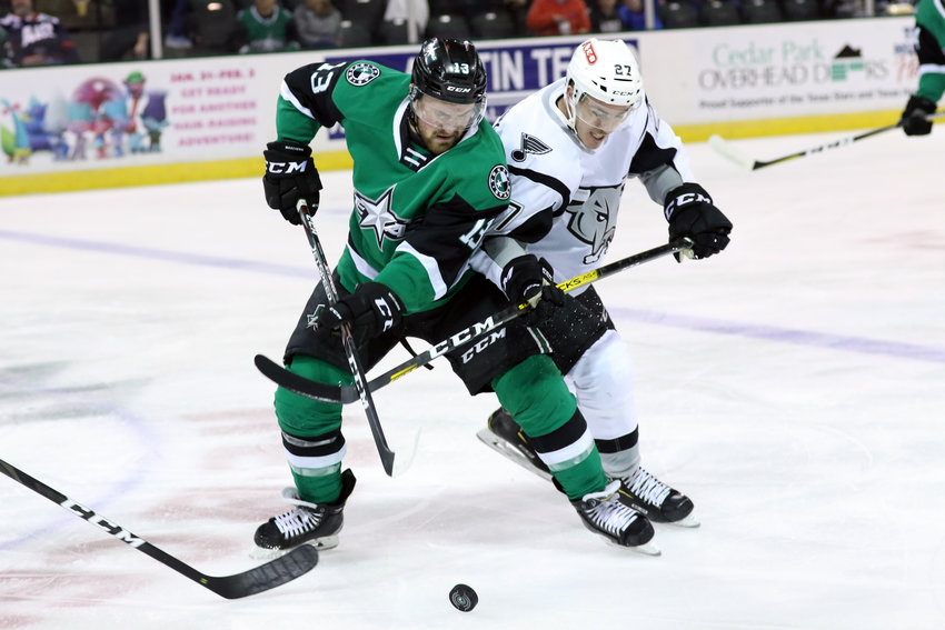 The Texas Stars lost to the San Antonio Rampage 5-4 in overtime on Saturday night. They face off with the Iowa Wild on New Year's Eve at 2 p.m.