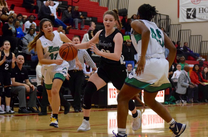 Skye O'Rourke scored 19 points for Vandegrift, and the Vipers beat McNeil 40-37 on Friday night to clinch a playoff spot. After a coinflip, the Vipers are the No. 4 seed.