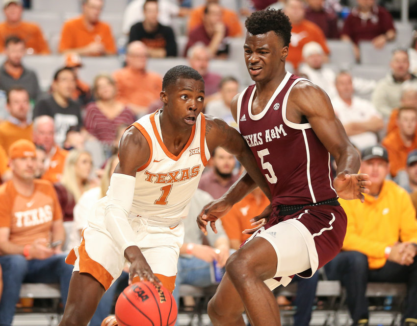 Texas Longhorns guard Andrew Jones scored a career-high 22 points on Monday, and the Longhorns beat No. 20 West Virginia to pick up their third straight win.