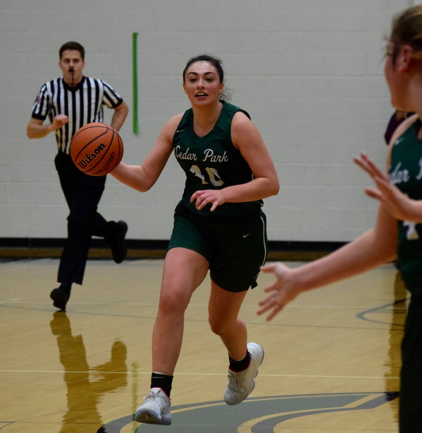 Nicole Leff had nine points and eight rebounds, but Cedar Park lost to College Station 58-54 in overtime on Saturday afternoon.