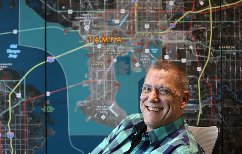 Bob Layton is aN artist, writer and editor, notable for his work on Marvel Comics titles like Iron Man and Hercules. He now lives in the Tampa area and has plans for bringing movie and television production to the state of Florida. (James Borchuck/Tampa Bay Times/TNS)