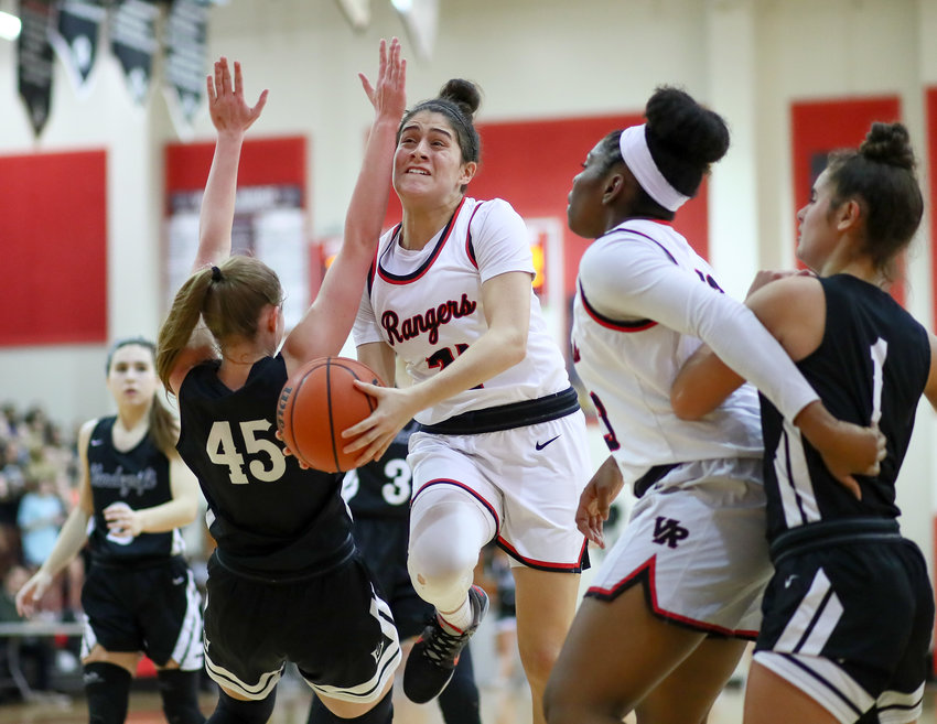 Vista Ridge point guard Victoria Baker was named co-district MVP with teammate A.J. Marotte after helping the Rangers advance to the regional tournament.