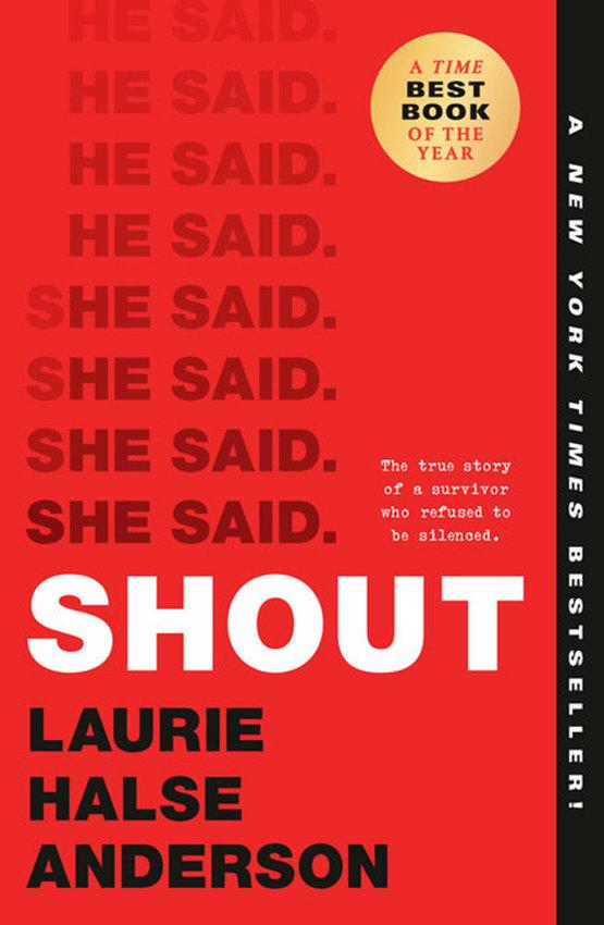 """""""Shout"""" by Laurie Halse Anderson (Penguin Random House)"""