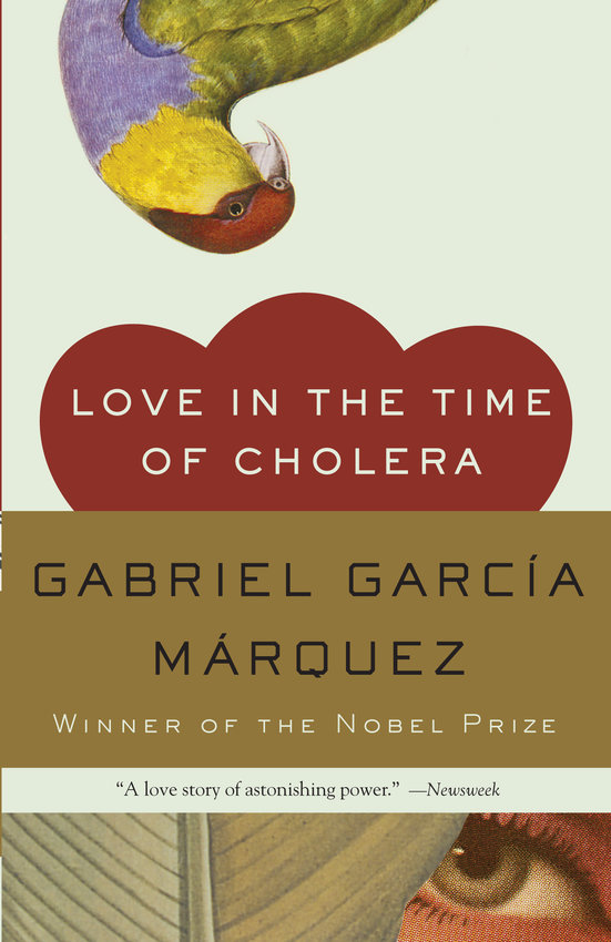 """""""Love in the Time of Cholera"""" by Gabriel Garcia Marquez. (Penguin Random House/TNS)"""