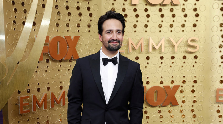 Lin-Manuel Miranda arrives for the 71st Primetime Emmy Awards at the Microsoft Theater in Los Angeles on Sept. 22, 2019. (Jay L. Clendenin/Los Angeles Times/TNS)