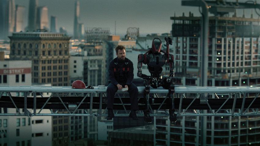 Aaron Paul in 'Westworld' on HBO. (HBO/TNS)