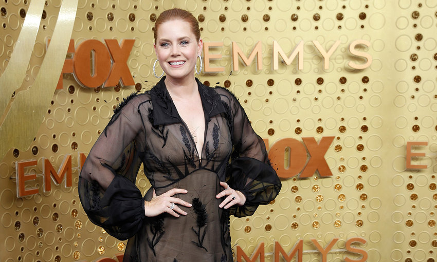 Amy Adams arrives for the 71st Primetime Emmy Awards at the Microsoft Theater in Los Angeles on Sunday, Sept. 22, 2019. (Jay L. Clendenin/Los Angeles Times/TNS)