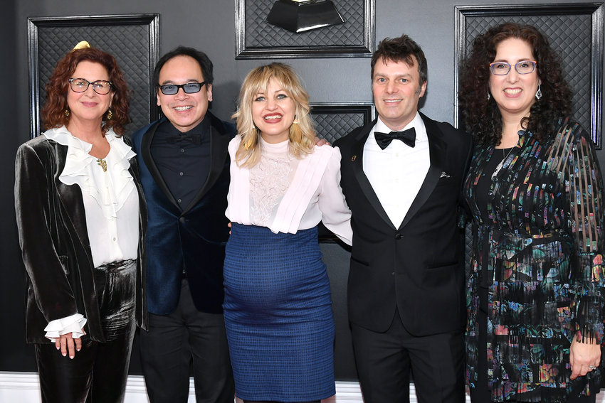 LOS ANGELES, CALIFORNIA - JANUARY 26: Hadestown attends the 62nd Annual GRAMMY Awards at Staples Center on January 26, 2020 in Los Angeles, California. (Amy Sussman/Getty Images/TNS)