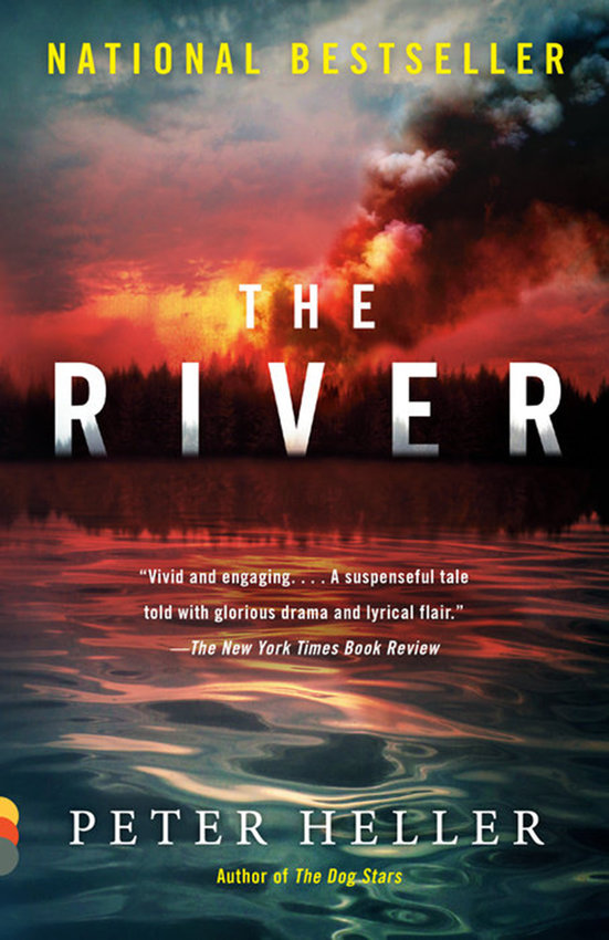 """The River"" by Peter Heller (Penguin Random House)"