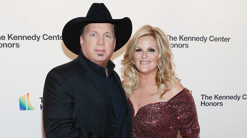 Garth Brooks and Trisha Yearwood attend the 42nd Annual Kennedy Center Honors Kennedy Center on December 08, 2019 in Washington, DC. (Paul Morigi/Getty Images/TNS)