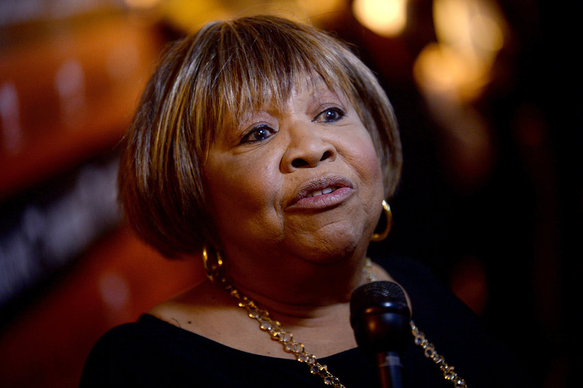 Mavis Staples attends a benefit concert at Beacon Theatre in New York on March 9, 2017. (Dennis Van Tine/Abaca Press/TNS)