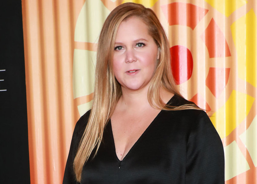 Amy Schumer attends Charlize Theron's Africa Outreach Project Fundraiser at The Africa Center in New York on November 12, 2019. (Jason Mendez/Sipa USA/TNS)