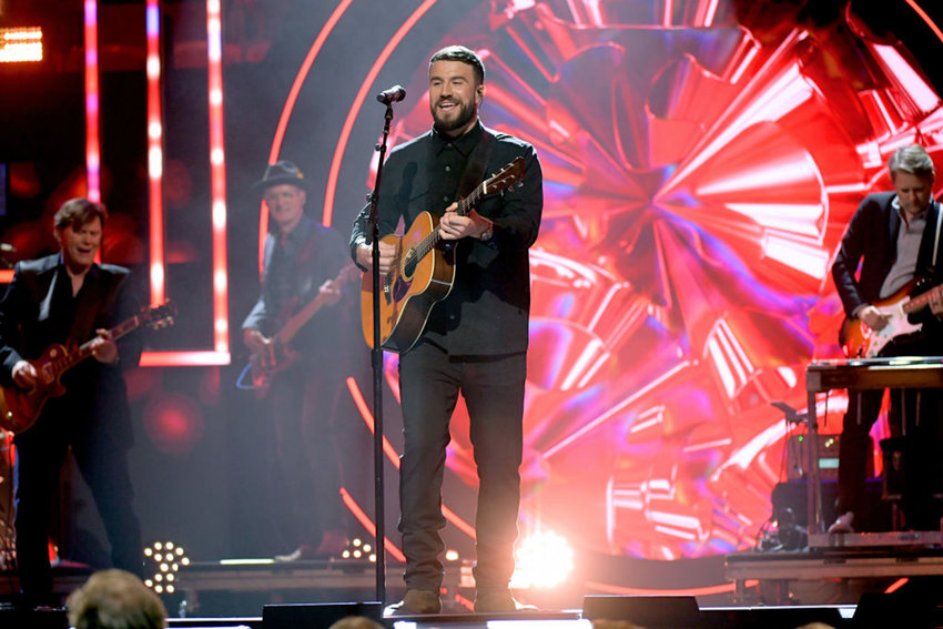 Sam Hunt performs onstage during the 2019 CMT Artist of the Year at Schermerhorn Symphony Center on Oct. 16, 2019 in Nashville, Tennessee. (Photo by Jason Kempin/Getty Images for CMT/Viacom/TNS)