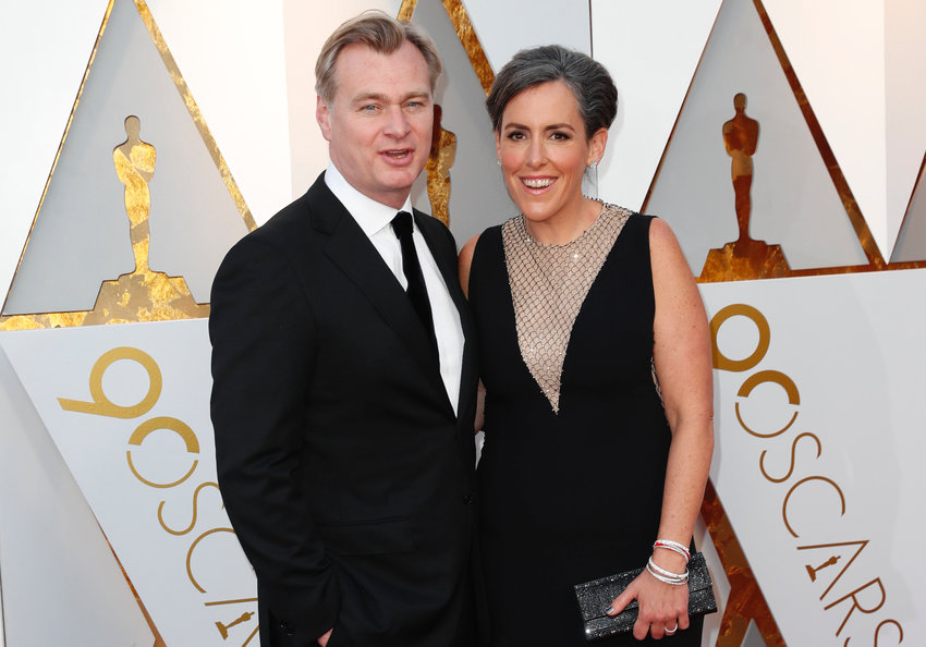 Christopher Nolan and Emma Thomas arrive at the 90th Academy Awards on Sunday, March 4, 2018, at the Dolby Theatre at Hollywood & Highland Center in Hollywood. (Jay L. Clendenin/Los Angeles Times/TNS)