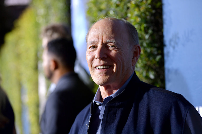 """Producer Frank Marshall attends the grand opening celebration of """"Jurassic World -- The Ride"""" at Universal Studios Hollywood on July 22, 2019 in Universal City, Calif. (Emma McIntyre/Getty Images for Universal Studios Hollywood/TNS)"""