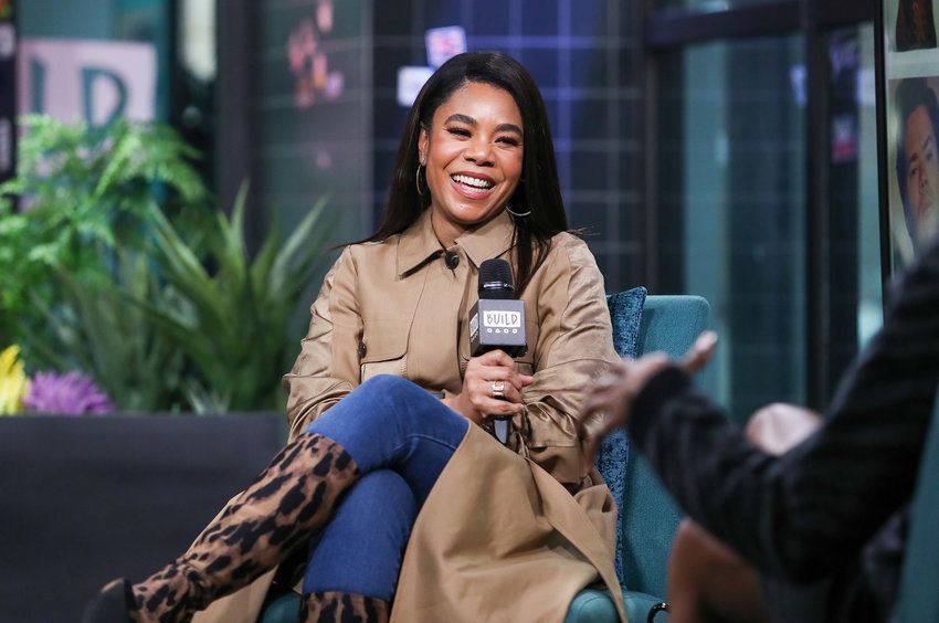 Regina Hall visits at Build Studio on March 12, 2020 in New York City. (Arturo Holmes/Getty Images/TNS)
