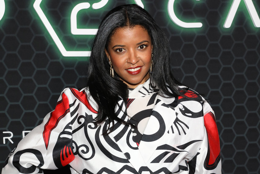 """Renee Elise Goldsberry attends Netflix's """"Altered Carbon"""" season two fan event and reception on Feb. 24, 2020 in New York City. (Monica Schipper/Getty Images for Netflix/TNS)"""