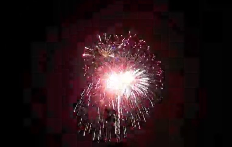 The City of Leander held a Fourth of July fireworks display at the CapMetro Station on Saturday. The event was livestreamed on Facebook.