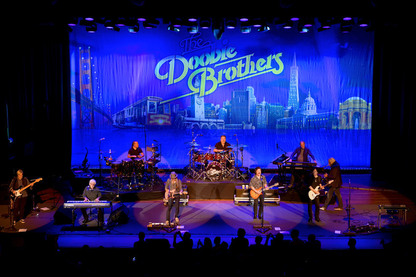 In this file photo, the Doobie Brothers Perform Toulouse Street And The Captain and Me Albums Live at The Ryman  on November 18, 2019 in Nashville, Tennessee. The Doobie Brothers will get its Rock and Roll Hall of Fame 2020 induction. (Jason Kempin/Getty Images/TNS)