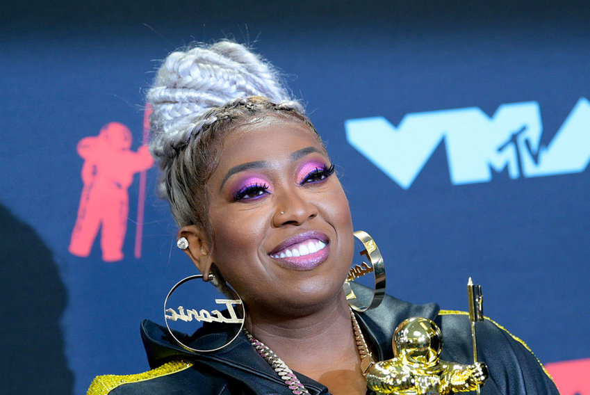 Missy Elliott poses in the Press Room during the 2019 MTV Video Music Awards at Prudential Center on August 26, 2019 in Newark, New Jersey. (Photo by Roy Rochlin/Getty Images for MTV/TNS)