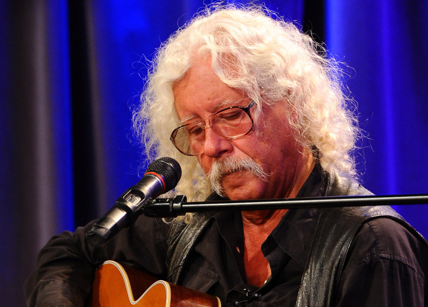Singer/Songwriter Arlo Guthrie performs at The GRAMMY Museum on April 9, 2012 in Los Angeles. (Michael Buckner/Getty Images/TNS)