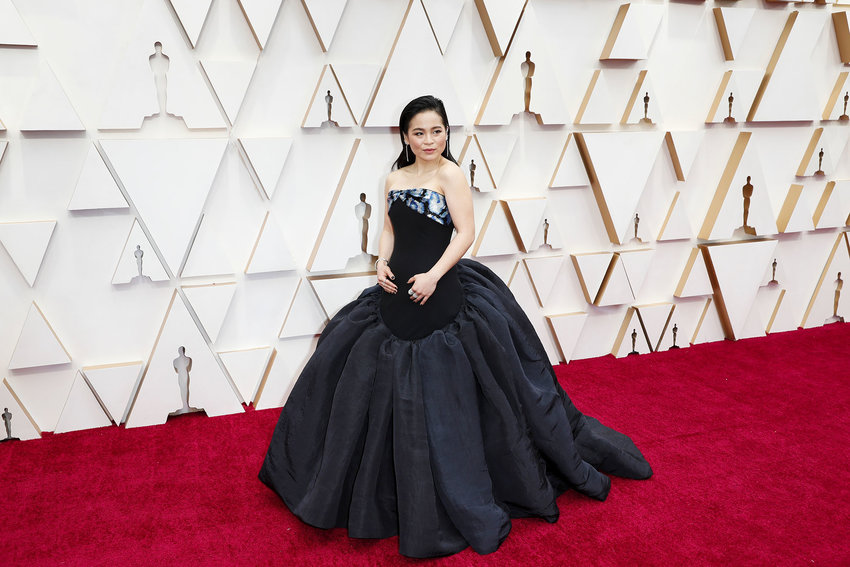 Kelly Marie Tran arrives at the 92nd Academy Awards on Sunday, Feb. 9, 2020, at the Dolby Theatre at Hollywood & Highland Center in Hollywood.
