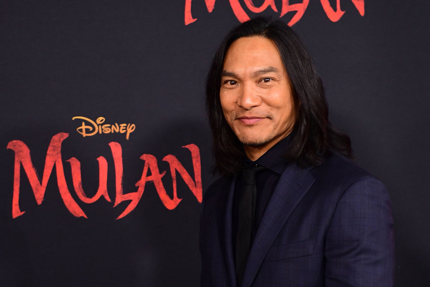 "In this file photo, US actor Jason Scott Lee attends the world premiere of Disney's ""MULAN"" at the Dolby Theatre in Hollywood on March 9, 2020. (FREDERIC J. BROWN/AFP via Getty Images/TNS)"