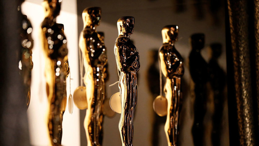 The Oscar statue backstage at the 88th Academy Awards on Feb. 28, 2016, in Hollywood. (Al Seib/Los Angeles Times/TNS)