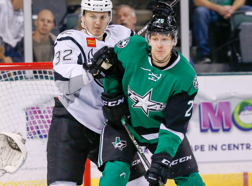Denis Gurianov scored the game-winning goal for the Dallas Stars in overtime on Monday night.