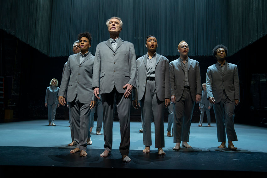 "An scene from ""David Byrne's American Utopia."" (David Lee/HBO/TNS)"