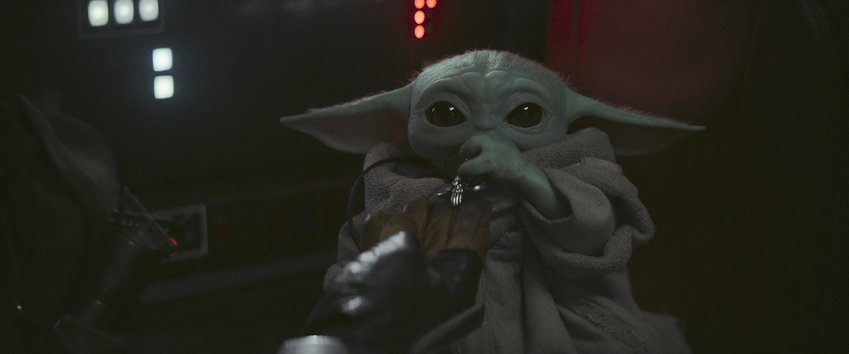 """In true Disney form, the entertainment giant has found yet another way to capitalize on the popularity of the Child (better known as Baby Yoda) by releasing a 1,073-piece Lego set in tandem with the highly anticipated second season of """"The Mandalorian."""" (Disney Plus/TNS)"""