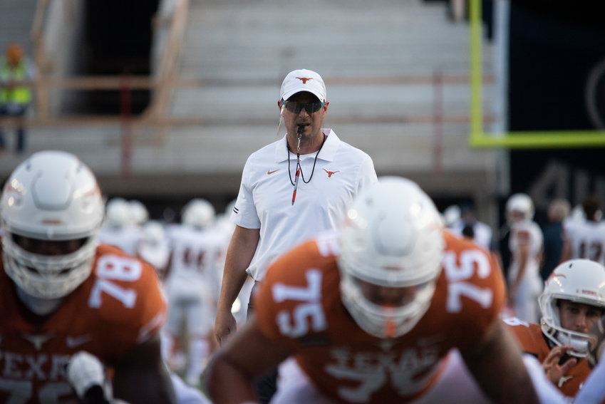 Tom Herman and Texas escaped Lubbock with a 63-56 win over Texas Tech on Saturday afternoon.