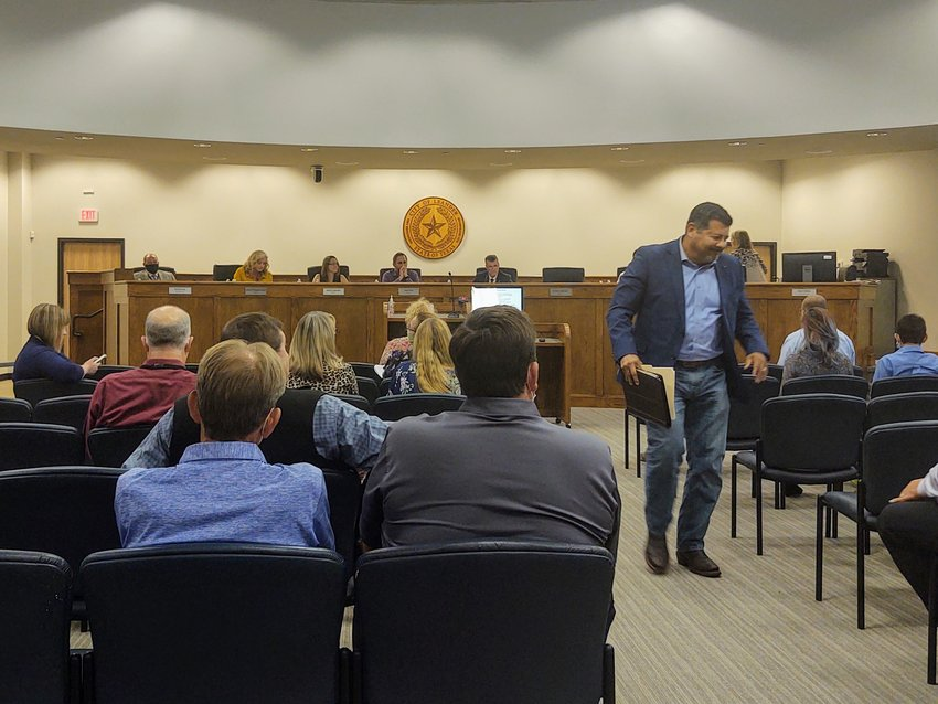 The Leander City Council temporarily ended its coronavirus spacing on Nov. 5 but will revert back to implementing those precautions for Thursday's meeting.