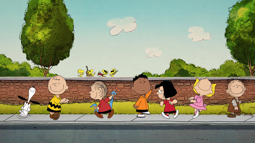 """The """"Peanuts"""" gang now find their home on Apple TV+ for both old and new original shows and specials. (Apple/TNS)"""