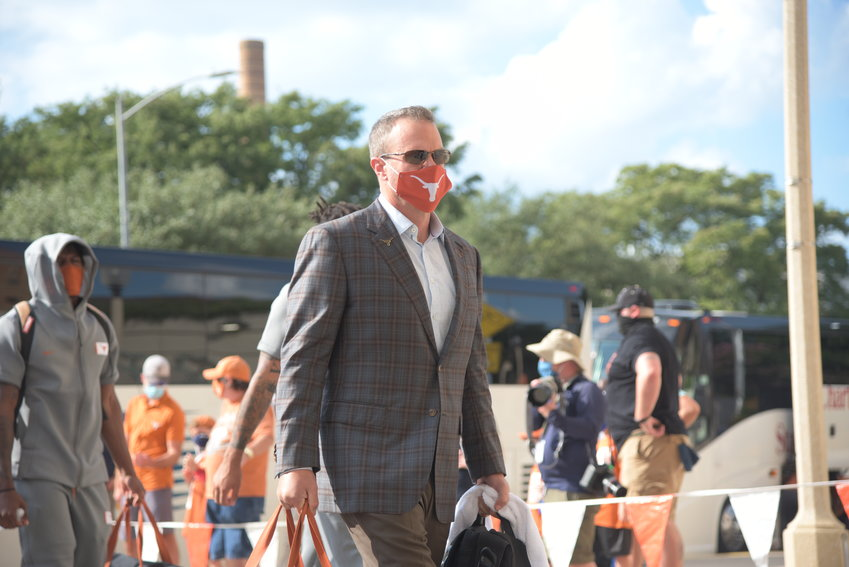 Tom Herman will return as Texas football coach in 2021, athletic director Chris Del Conte confirmed on Saturday.