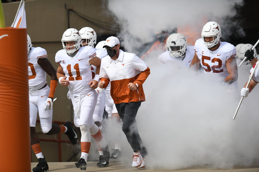 Texas fired head coach Tom Herman after four seasons on Saturday and announced it had hired Alabama offensive coordinator Steve Sarkisian as the next head coach.