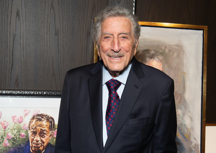 Tony Bennett attends The Art Students League's 2019 Gala at The Edition Hotel on November 04, 2019 in New York City. (Noam Galai/Getty Images for Shorefire/TNS)