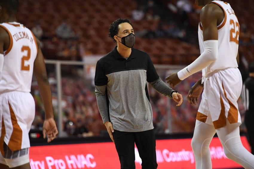 Cutline Head coach Shaka Smart will return to the sidelines when the Longhorns host No. 2 Baylor on Tuesday night.
