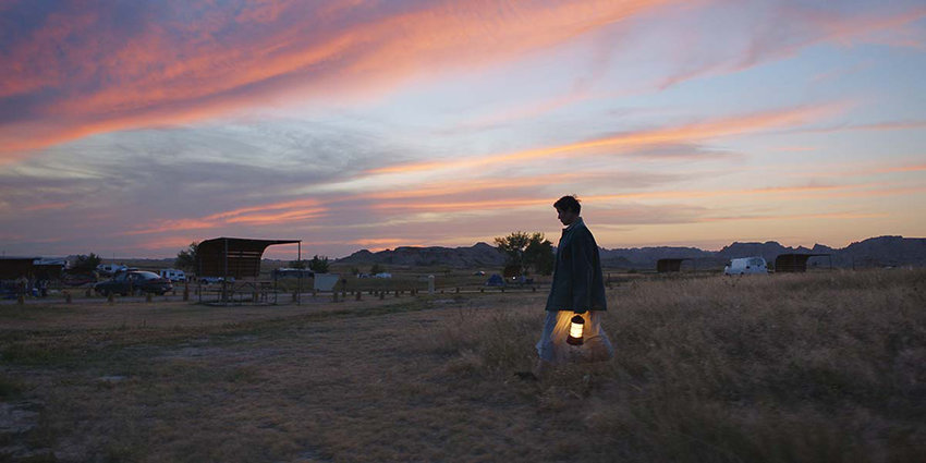 "Following screenings at the Venice, Toronto and New York film festivals, and a special-event presentation from Telluride in Los Angeles, the Frances McDormand-led drama ""Nomadland"" has garnered significant awards buzz. (Searchlight Pictures/TNS)"