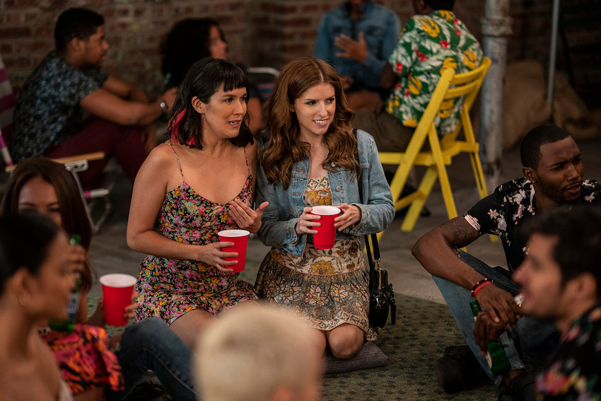 "Zoe Chao, left, and Anna Kendrick in HBO Max's ""Love Life."" (Zach Dilgard/Warner Media/TNS)"