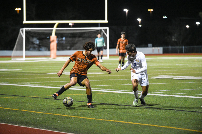 enior Luca Cipleu scored the game-tying goal with six minutes left in regulation Wednesday night as Westwood tied Stony Point 2-2 to win the district title.