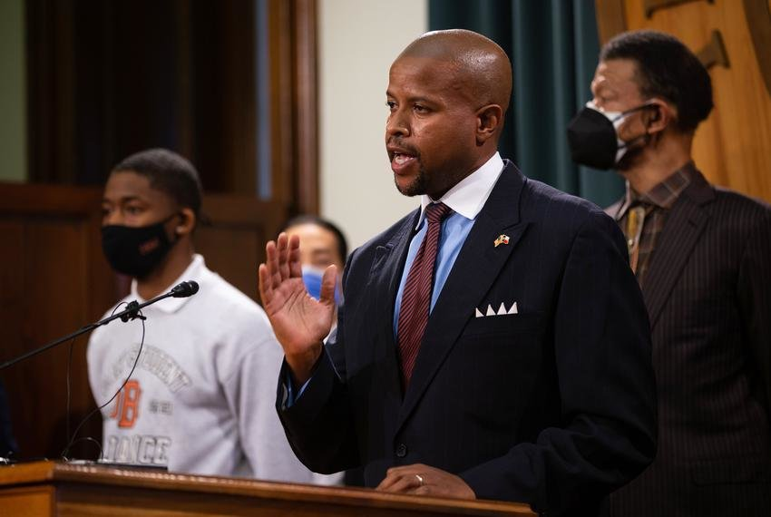 """Members of Texas' Legislative Black Caucus want the University of Texas at Austin to get rid of its alma mater song, """"The Eyes of Texas."""" Members met with university President Jay Hartzell on the issue, Rep. Ron Reynolds, D-Missouri City, said during a press conference at the Texas Capitol."""