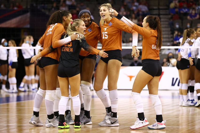 Texas lost to Kentucky 3-1 in the Division I Women's Volleyball Championship held at the Chi Health Center on April 24, 2021 in Omaha, Nebraska.