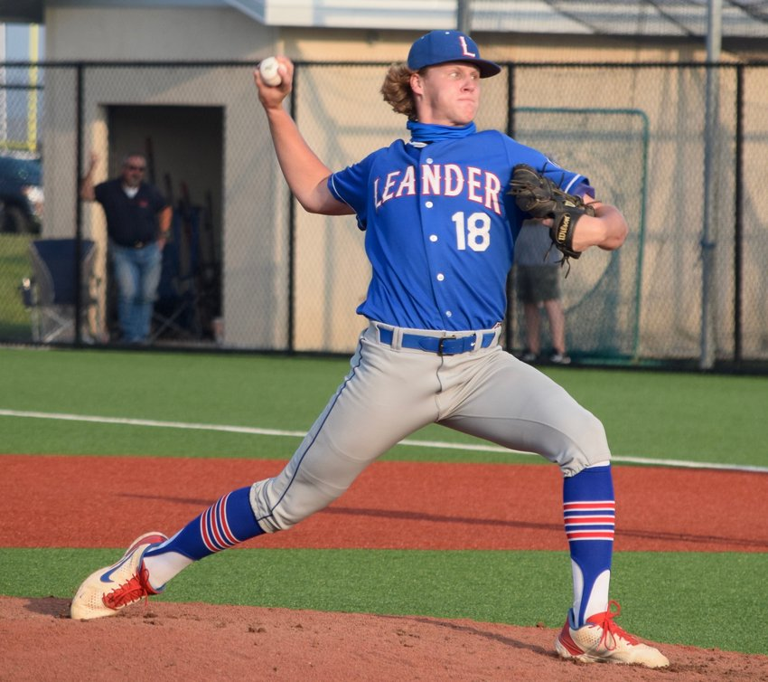 Dylan Capers and Leander lost to Cedar Park in a seeding game on Monday night. The Lions will face off with Alamo Heights in the first round of the playoffs.