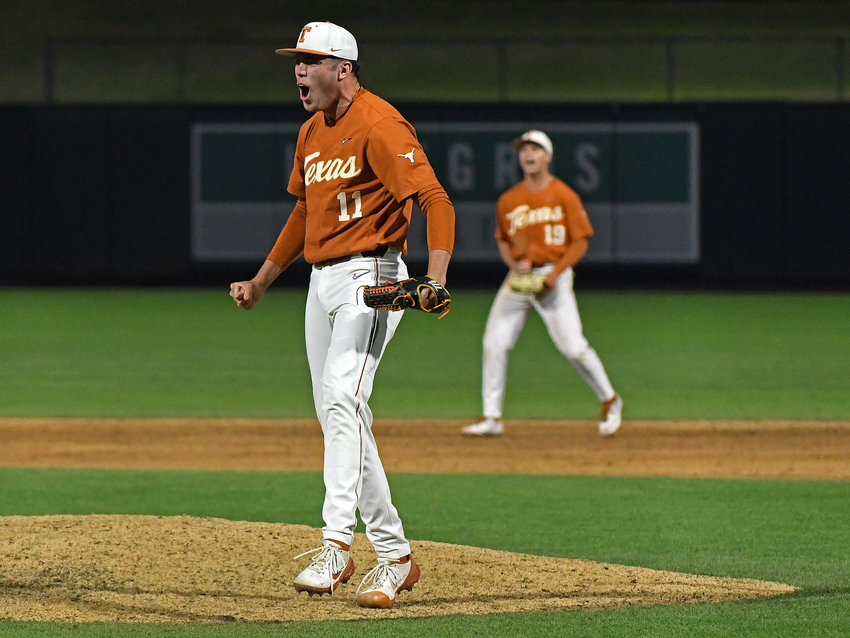 Tanner Witt and Texas will host Arizona State, Fairfield and Southern in the Austin regional beginning Friday afternoon.